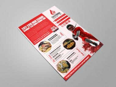 California Cookout Flyer