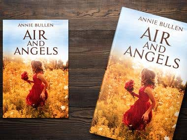 Air & Angels Book cover Illustration