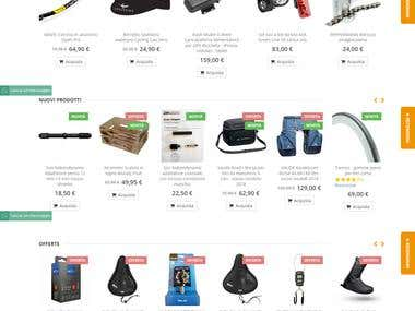 Online Bicycle Accessories Portal