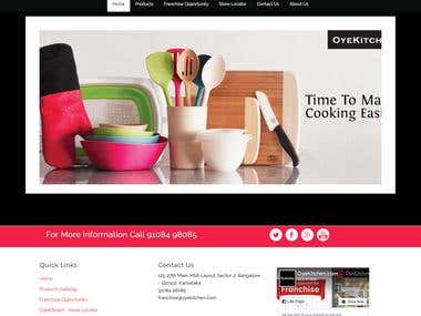 Online Cookware Products (Kitchen Store)