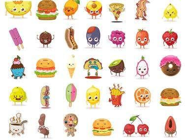 Illustration- Character vectors