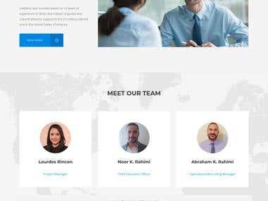 Language Training Website