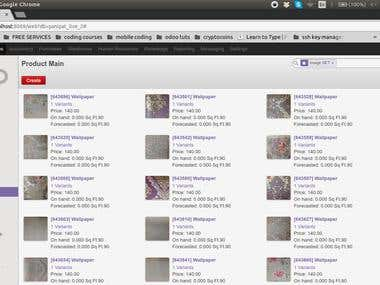 Odoo Photoswipe Product Gallery