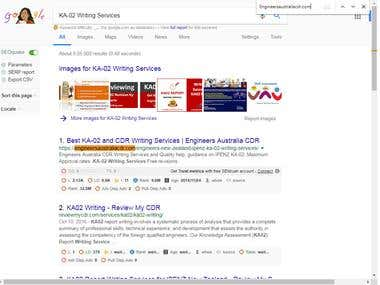 KA-02 Writing Services - Engineers australia cdr