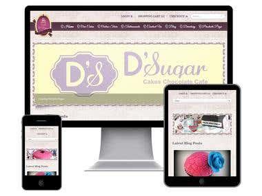 Dsugar - website