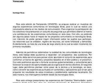 Redacción de artículos para publicaciones de divulgación.