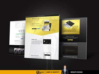 Website Design for a Finance Company