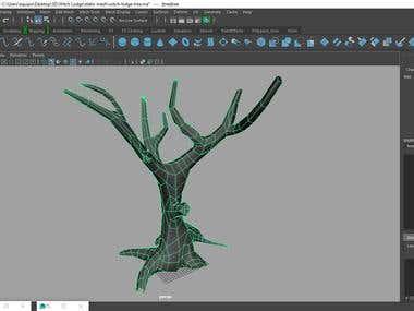 3D scenarios and props