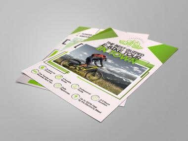 E-Bike Tour Flyer