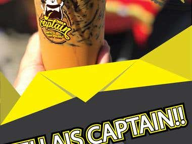 Bunting Teh Ais Captain!