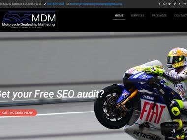 Digital Marketing based website