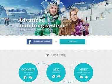 Social dating website