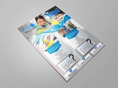 Eurostar Cleaning Flyer