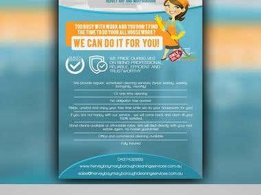 Logo + Flyer + Business Cards design