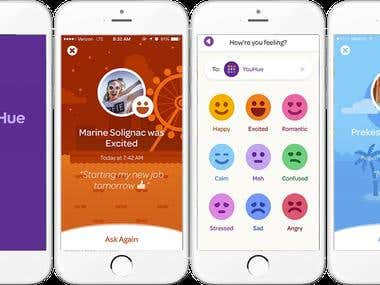 YouHue - Social Mood Tracker