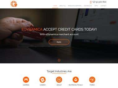 Build A Website - a Payment Service Processor