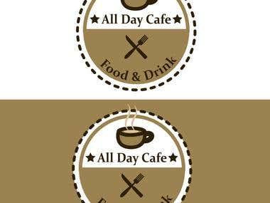 Coffee restaurant logo