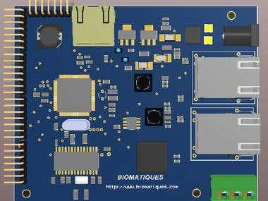 Ethernet GPIO controller.