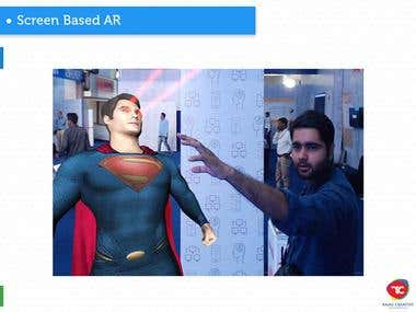 Screen Based Augmented Reality