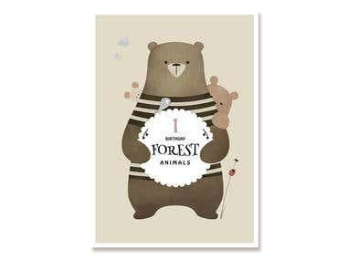 Greeting Card Illustration & Graphic Design