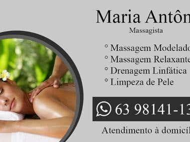 Business Card from Maria Antônia Pereira Pinheiro