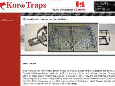 SEO for korotraps.com