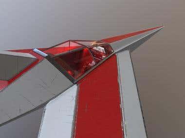 Fighter model