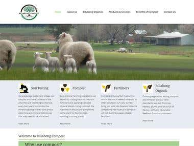 Billabongcompost Website