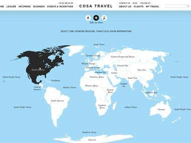 Cosatravel Website