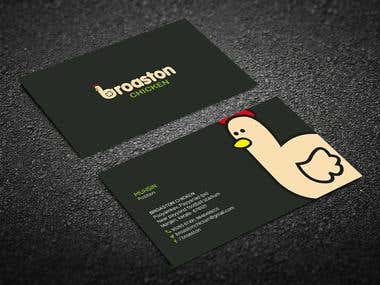 Broaston logo and brochure design