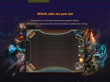 Runewards - Gaming Site