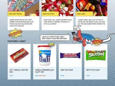 Candy WordPress wo-commerce