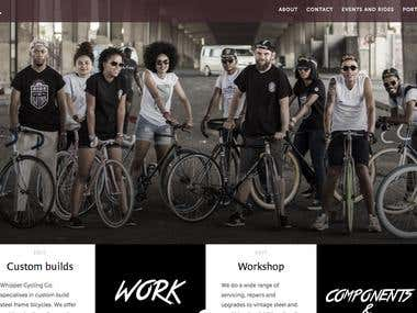 Whippet Cycling Co website