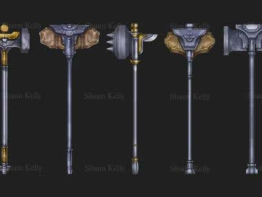 Weapon Asset Collection