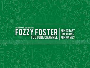 YouTube Banner: Fozzy Foster