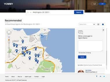 UX/UI - Real Estate Website