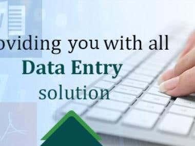 Data Management cum Data entry Expert