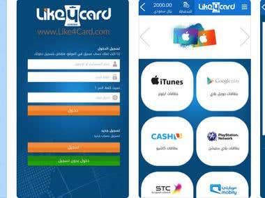 Like4card Application