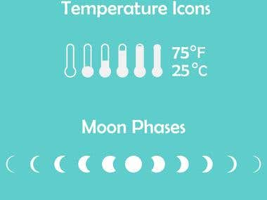 Surfing App icons