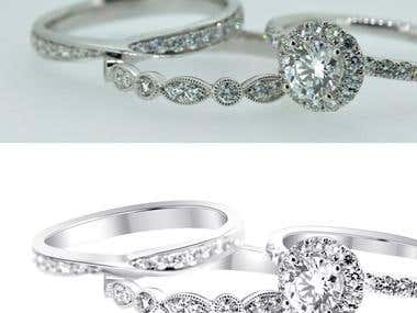 High End Jewelry Retouching