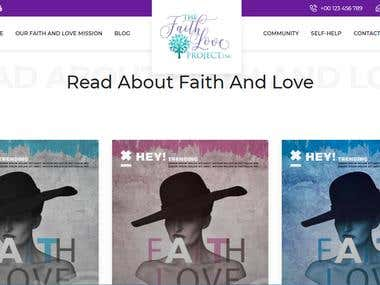 Faithlove Blogging Website