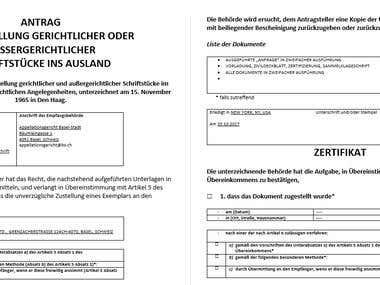 Translating plus formatting from a PDF file
