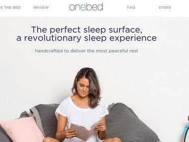 E-Commerce Website: Onebed