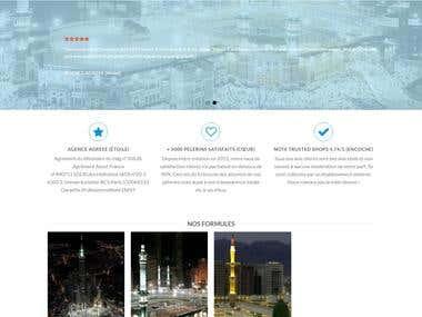 EasyOmra WordPress Website (http://www.easyomra.com/)