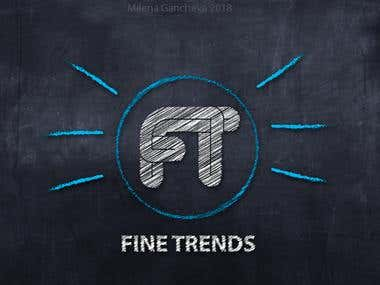 Fine Trends youtube logo channel