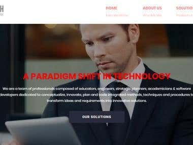 Website content for http://pshiftech.com/solutions/