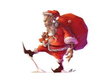 Alien Santa