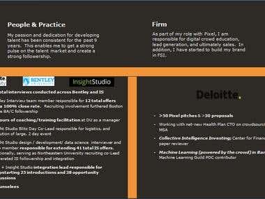 presentation page