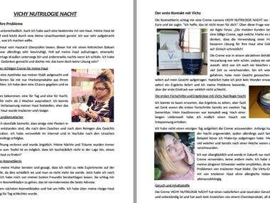 Writing an Article for a German Magazine