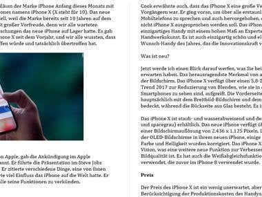 Features and Introduction of I-phone X